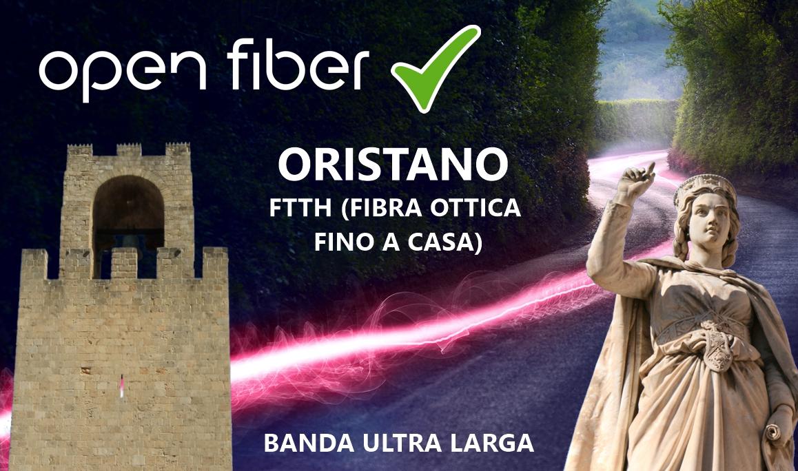 Open Fiber a Oristano
